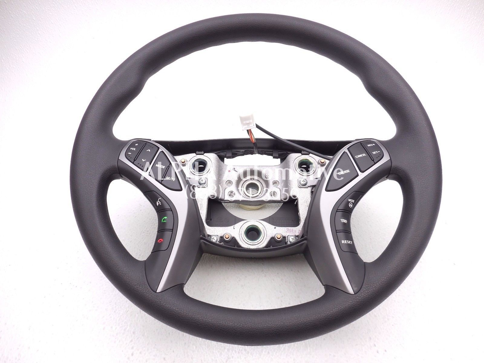 New Oem 2014 15 Hyundai Elantra Black Steering Wheel W
