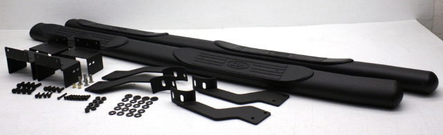 OEM Kia Sorento Black LH & RH Step Bars w/Install Kit UB030-AY120BBK