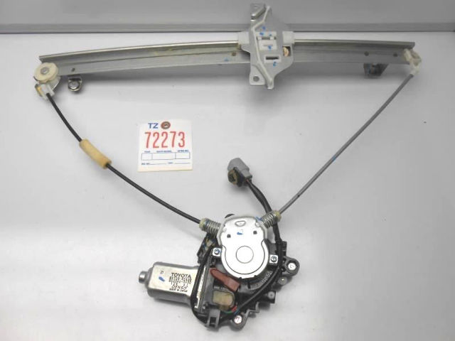 genuine oem toyota rav4 left front window regulator 2 door. Black Bedroom Furniture Sets. Home Design Ideas