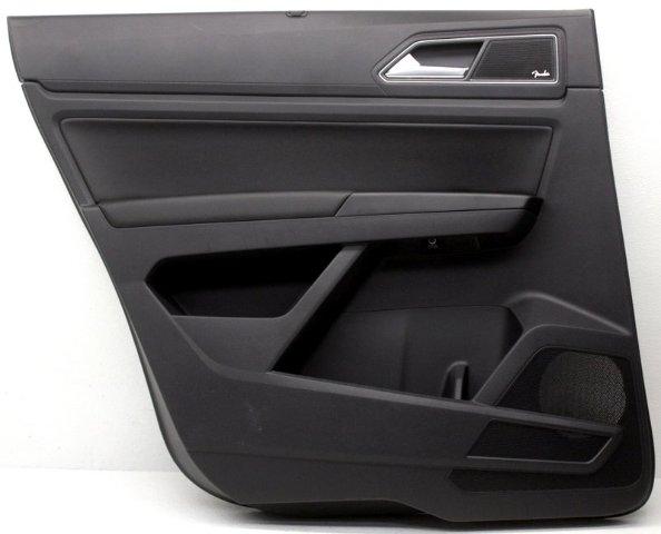 OEM Volkswagen Atlas Rear Driver Side Door Trim Panel Scuffs