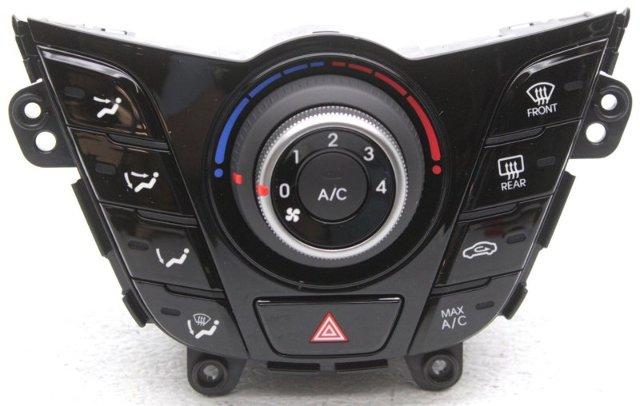 OEM Hyundai Veloster Temp Control 97250-2V011-BLH, 97250-2V010BPD