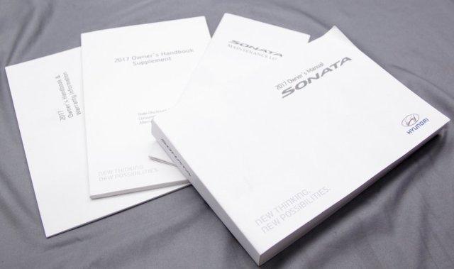 OEM Hyundai Sonata Owner's Manual