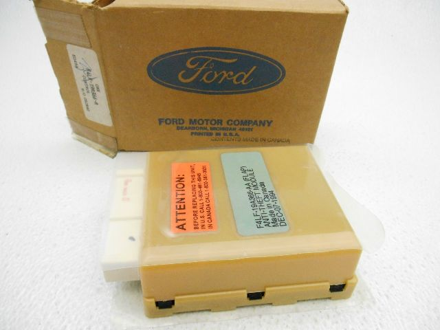 New oem ford lincoln mark vii mark viii anti theft module - Lincoln mark viii interior parts ...