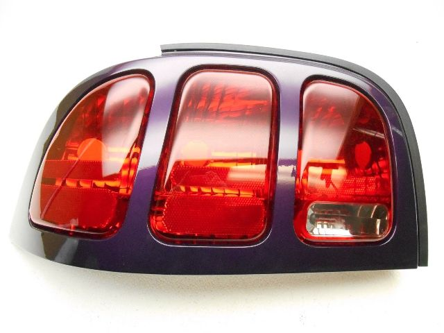 nos new oem ford mustang left taillight tail light purple. Black Bedroom Furniture Sets. Home Design Ideas