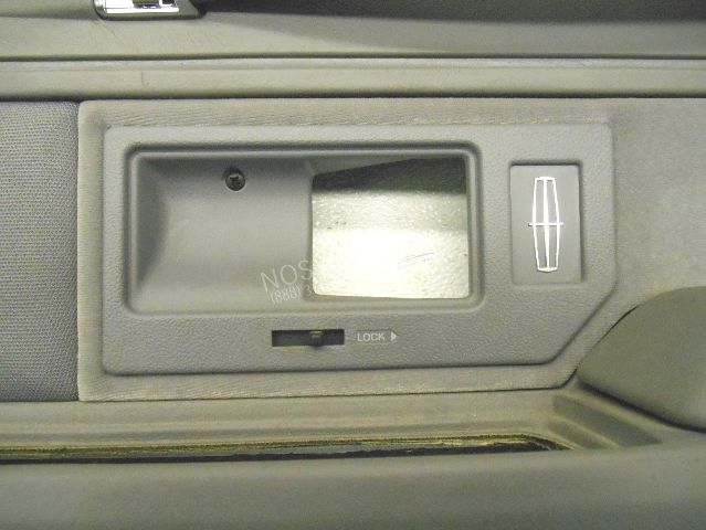 Nos New Oem 1993 1994 Lincoln Town Car Right Grey Interior Door Trim Panel