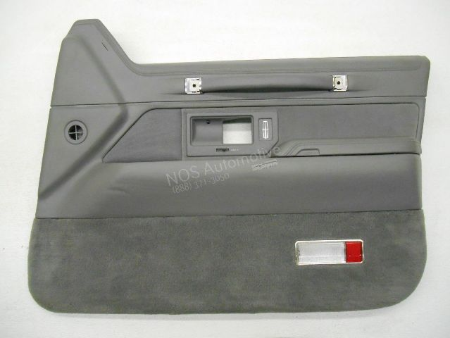 Nos New Oem 1993 1994 Lincoln Town Car Right Grey Interior Door Trim Panel Ebay