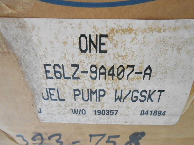 Aa New Nos Oem Ford Thunderbird Cougar Mark Fuel Pump Sending Unit on 1992 Lincoln Mark Vii Lsc Engine