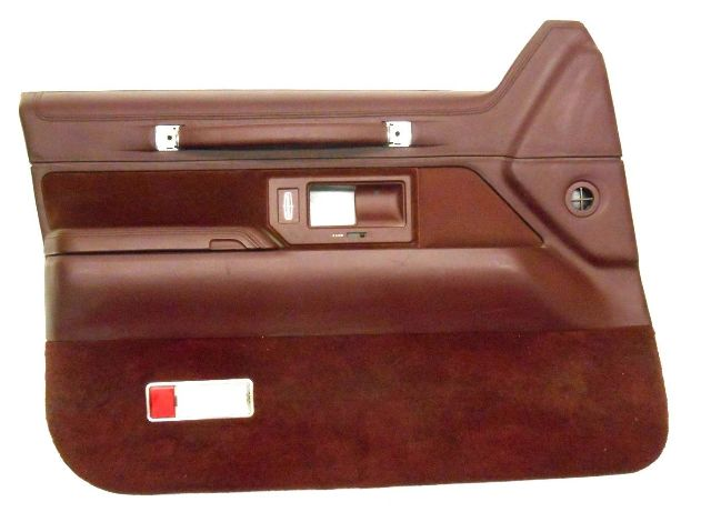 Nos new genuine oem 1994 lincoln town car left red - Lincoln town car interior door parts ...