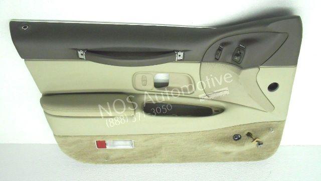 Nos New Oem 1997 Lincoln Town Car Left Grey Interior Door Trim Panel