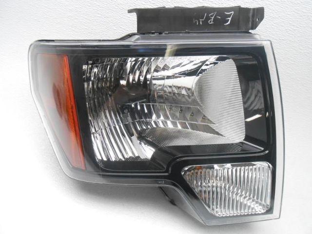 Oem Ford F150 Right Halogen Headlamp Headlight Black 2010