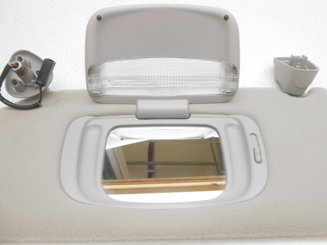 New OEM Sun Visor 1998-2001 Continental Homelink With Lincoln Left Gray | Alpha Automotive