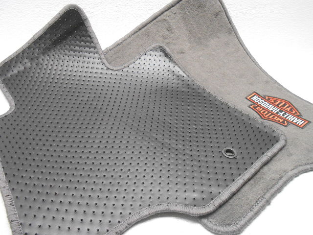 New Oem Ford F 150 F150 Floor Mats Harley Davidson Edition