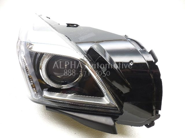 Cadillac Cts Head Lamp Glass