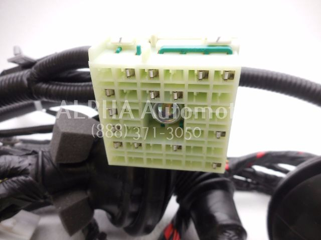 new oem 2005 2010 kia sportage ex 2wd 2 7l engine wiring harness 499 96