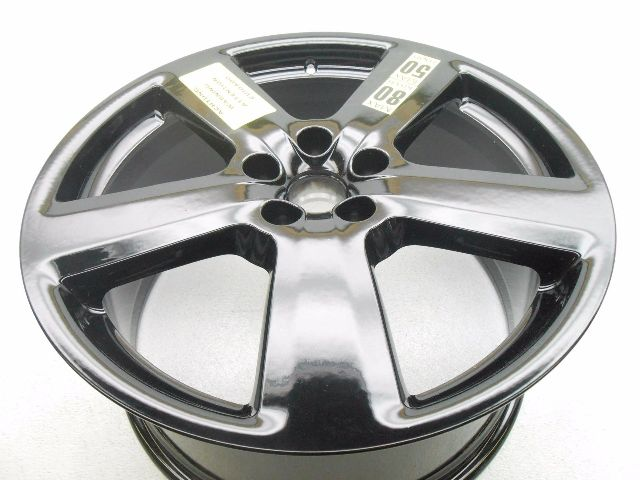 new genuine oem audi a8 19 spare wheel rim black 5 spoke. Black Bedroom Furniture Sets. Home Design Ideas