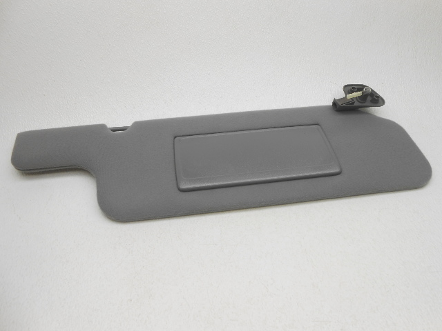 new oem 1993 1995 lincoln town car right opal grey sun visor cut clip damage alpha automotive. Black Bedroom Furniture Sets. Home Design Ideas