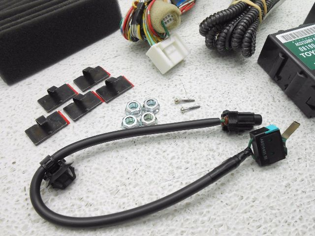 Toyota Camry Remote Engine Start Hood Switch 2012 Toyota Camry Remote