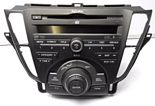 Oem Honda Acura Tl Oem Radio Am Fm Cd Mp3 Dvd Hdd Tech