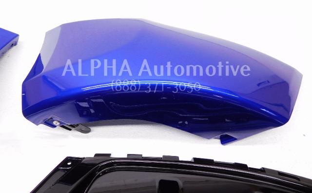 New Oem 2013 2015 Hyundai Veloster Rear Bumper Skirt Blue