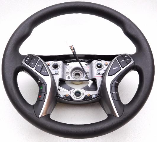 New Oem 2011 2013 Hyundai Elantra Steering Wheel With Controls 56110 3x250ryz Alpha Automotive