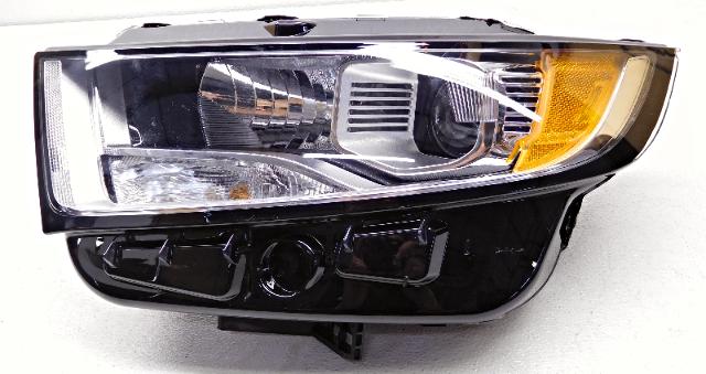 Oem  Ford Edge Left Driver Halogen Headlight Head Lamp Lens Chip
