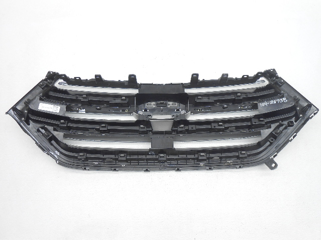 Oem 2015 Ford Edge Upper Grille Chrome Scratches Broken