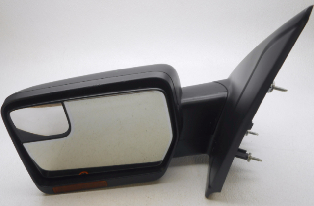 Oem 2011 2014 Ford F150 Left Textured Exterior Mirror Glass Chip Housing Scratch
