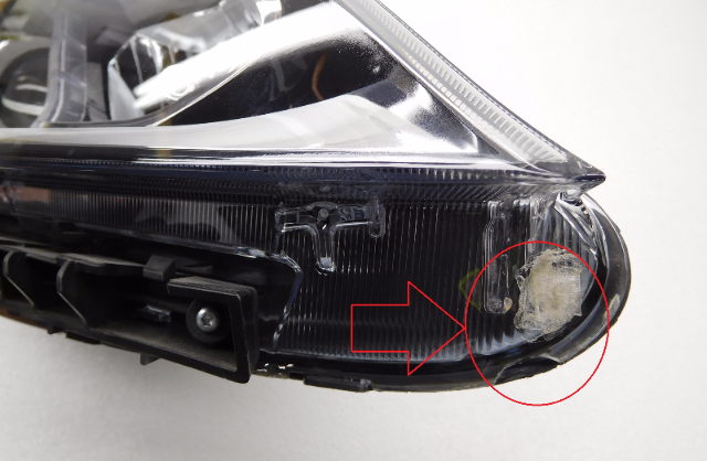 Oem 2014 2015 Kia Sorento Right Halogen W Led Headlight