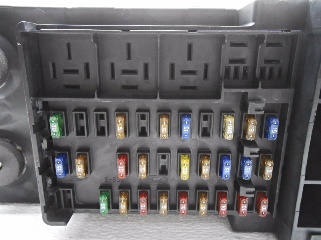 fuse box for kit cabins new old stock ford f150 f250 expedition cabin fuse box w/o ... electrical fuse box repair kit