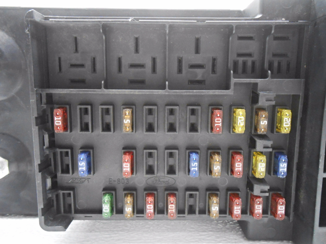 car fuse box repair kit new old stock ford f250sd f350sd f450sd f550sd cabin fuse ... fuse box for kit cabins #9