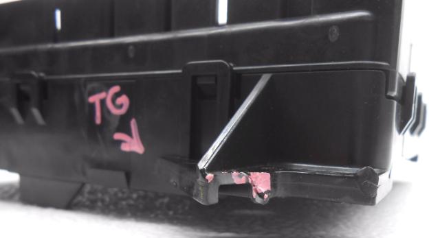 Fuse Box Missing Fuses : Oem ford taurus mercury sable cabin fuse box less relays