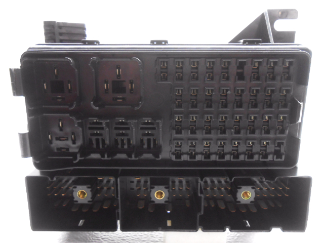 97 sable fuse box oem ford taurus mercury sable cabin fuse box less relays ... 2003 sable fuse box diagram #5