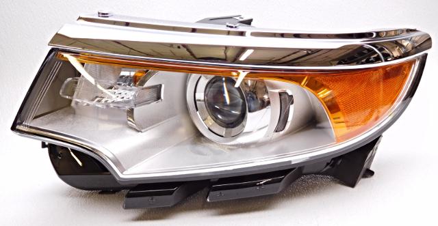 Oem Ford Edge Left Driver Complete Xenon Headlight Head Lamp Btz  D