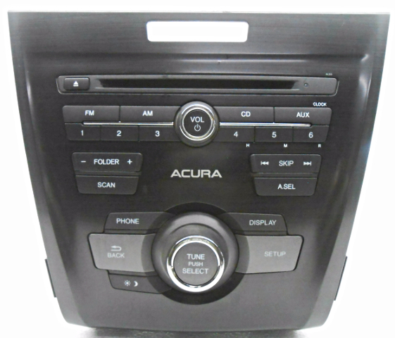 OEM Acura ILX CD Player Receiver Face Plate Small