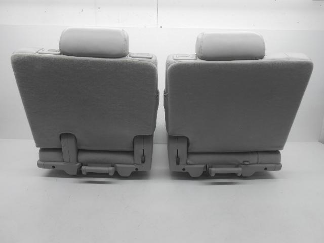 oem chevrolet tahoe yukon suburban third row seat lh and rh leather gray alpha automotive. Black Bedroom Furniture Sets. Home Design Ideas