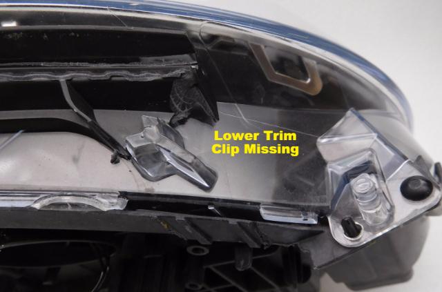 OEM BMW 328i 335i GT xDrive Left Driver Side HID Headlight Leaks