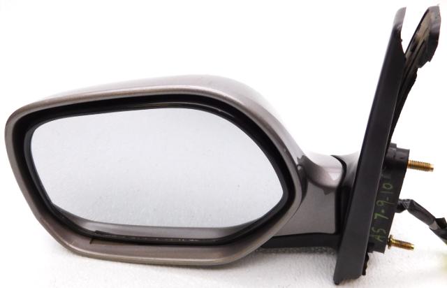 Oem Scion Xb Left Driver Side Mirror Silver Minor Cover