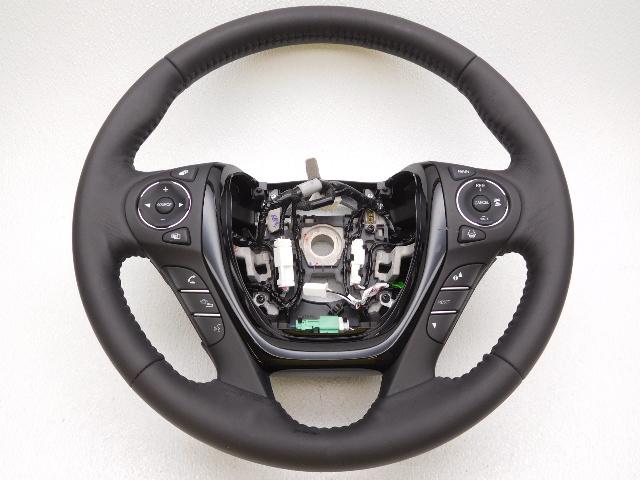 oem honda pilot elite leather steering wheel w drive assist heated scuffs rubs alpha automotive. Black Bedroom Furniture Sets. Home Design Ideas