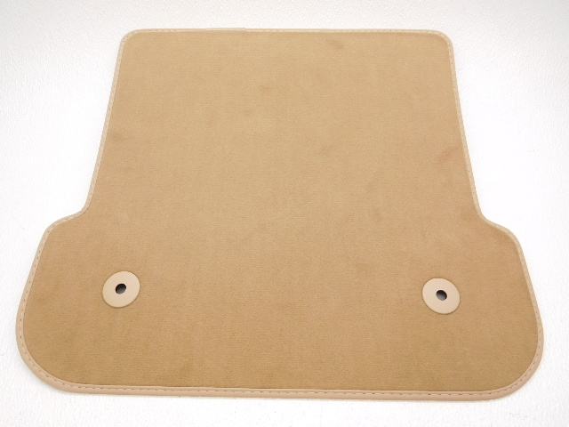 Oem volkswagen cabrio right passenger rear floor mat beige for 1 piece floor mats