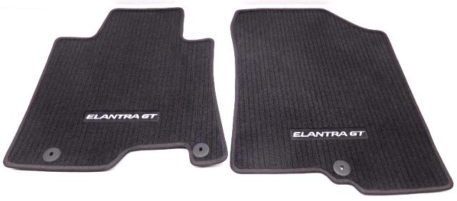 Oem Hyundai Elantra Gt Floor Mat Set Black A5f14 Ac100