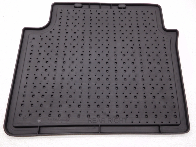 Oem Hyundai Veloster All Weather Rubber Floor Mat Set