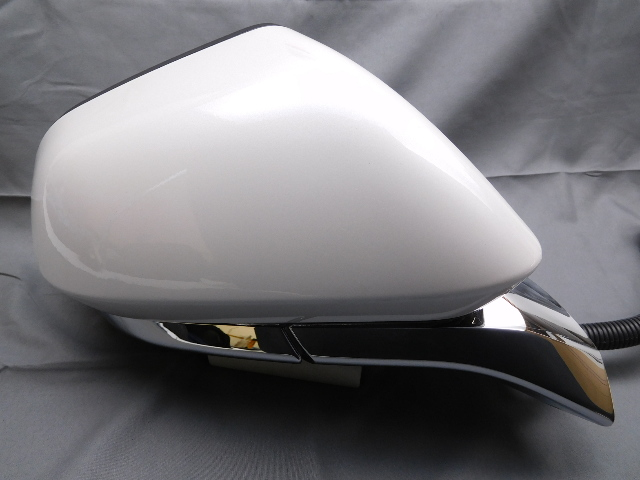 New Oem Lincoln Mkz Right Door Side View Mirror Plat White