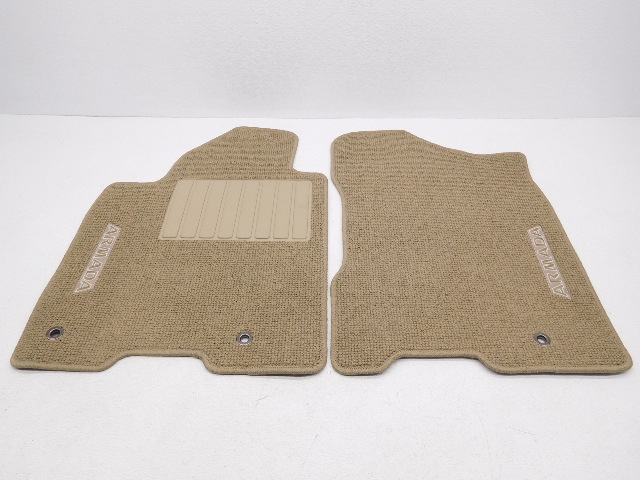 Genuine Oem Nissan Armada 4 Piece Floor Mat Set Beige