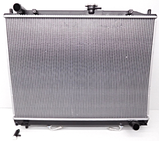 OEM Mitsubishi Montero Radiator Intake Chipped Off MR968286