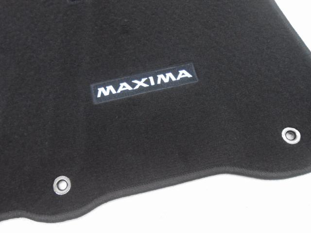 New Oem Nissan Maxima Non Sport Black Carpet Floor Mat Set