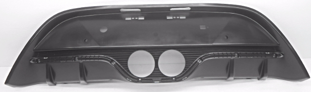 OEM Hyundai Veloster Turbo Rear Lower Bumper Insert Cover