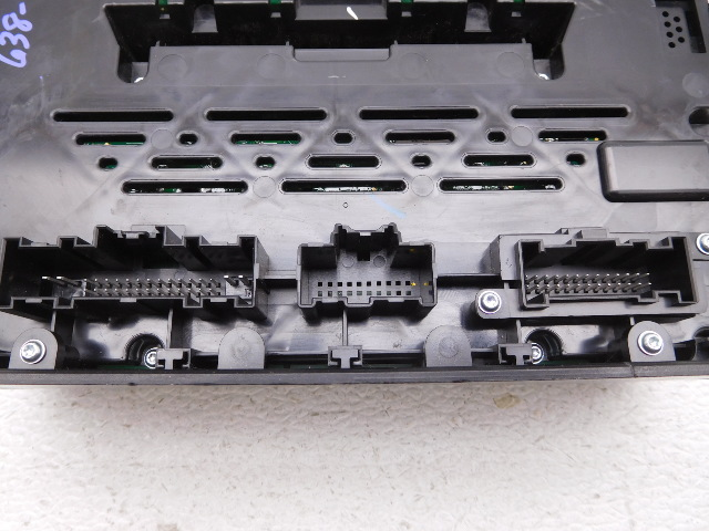 Oem Ford Fusion Audio Stereo Temp Control Face Plate