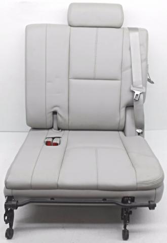 oem chevrolet tahoe third row seat gray titanium cover cracked alpha automotive. Black Bedroom Furniture Sets. Home Design Ideas