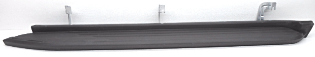 OEM Chevy Tahoe Left Driver Running Board Black Textured Missing Front End Cap