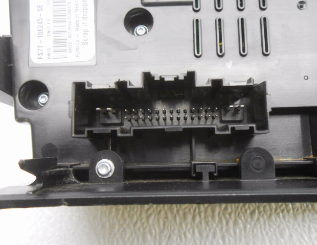 Oem Ford Fusion Audio Stereo Temperature Control Panel